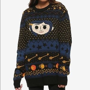 Sweaters - NWT ADORABLE Coraline Button Sweater Size M